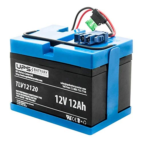 Peg Perego 12 Volt Rechargeable Compatible Replacement Battery by UPSBatteryCenter - Compatible with All Peg Perego 12V Ride-On Toys