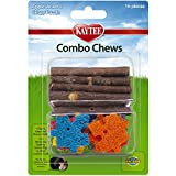 Kaytee Combo Chews, Apple Wood and Crispy Puzzle, 16 Pieces,Brown,4.5...