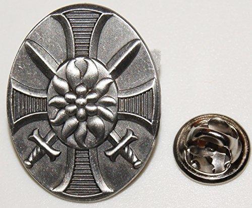 Textilmonster Leib Regiment Spade Acciaio Bianco Mili Taria L Spilla L Distintivo L Pin 398