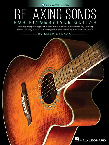 Relaxing Songs for Fingerstyle Guitar (English Edition)