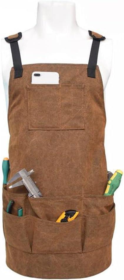 MikeyBee Woodworking cheap Award-winning store Apron Durable Goods Unisex Waxed Heavy Duty