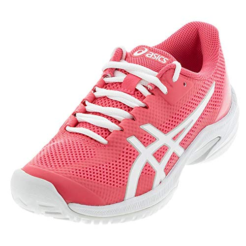 ASICS Women's Court Speed FF Tennis Shoes, 11.5M, Pink Cameo/White