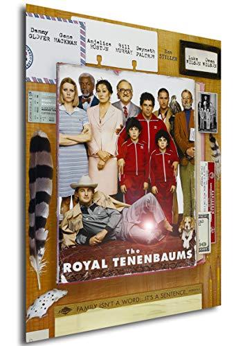 Instabuy Poster Die Royal Tenenbaums - Theaterplakat (A3 42x30)