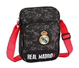 Real Madrid ST611924672 Equipaje, Niños Unisex, Negro, 22 cm