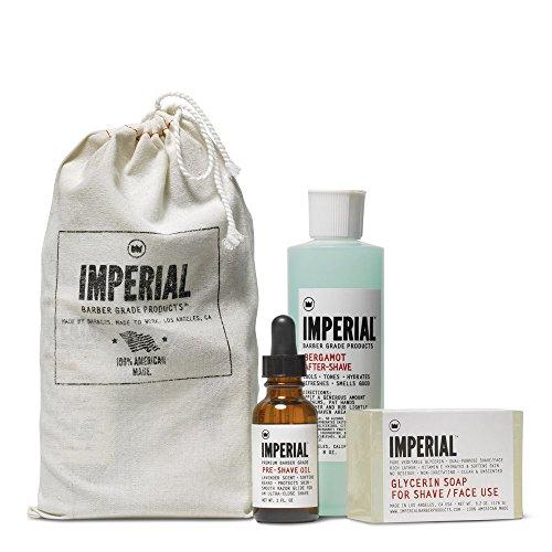 Imperial Barber Products Glycerin Shave/Face Soap 183 ml Puck Zum Rasieren als auch zur sanften Reinigung des Gesichts