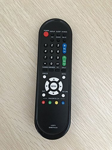 Replacement Remote Control for Sharp LC19SB25U...