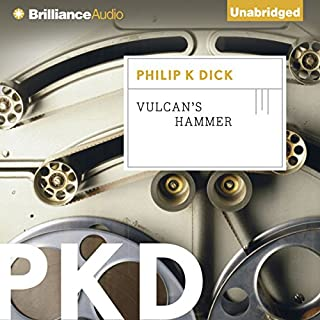 Vulcan's Hammer audiobook cover art