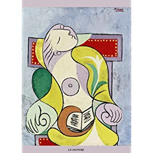 PICASSO La Lecture (The Reading) 250gsm ART CARD Gloss A3 Reproduction Poster