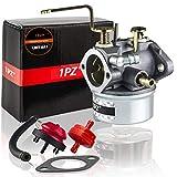 1PZ UMT-8A1 Carburetor with Fuel Filter Gasket Fuel Line for Tecumseh 640260 640260A 640260B 632689 HM85 HM90 LH318XA LH358XA LH358EA 8Hp-10Hp Craftsman 3500 4000 Coleman Generator Lawnmower Snowblow