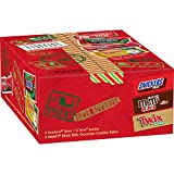 M&M'S, SNICKERS, TWIX Assorted Candy Christmas Santa Box, 21.60 oz 20-Piece Gift Box
