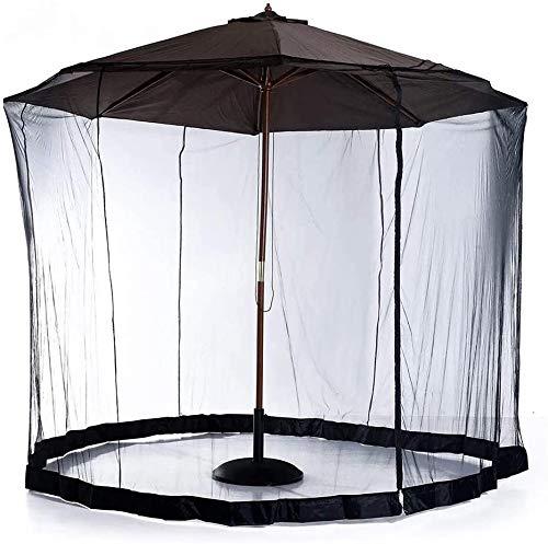 Écran De Fabrication De Moustiques De Couverture De Parapluie, Parasol moustiquaire, with Zipper and Water Tube at The Base to Hold in Place