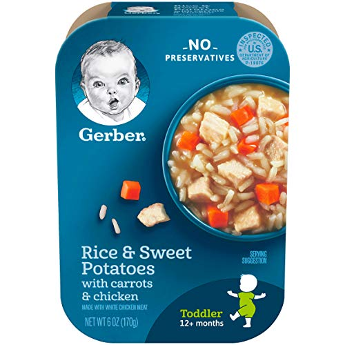 Gerber Graduates Lil Meals, Rice, Sweet Potato, Carrot and Chicken, 6 Ounce, 6 Count