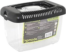 Komodo Plastic Terrarium 19x12x13.55cm