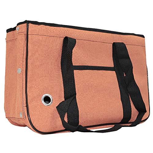 Animary ペットキャリーバッグ ペットキャリートートバッグ ショルダーバッグ UP-040 (オレンジ)