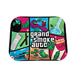 Metal Rolling Tray GrandSmokeAuto by eLATED (Large 13.5' x 11')