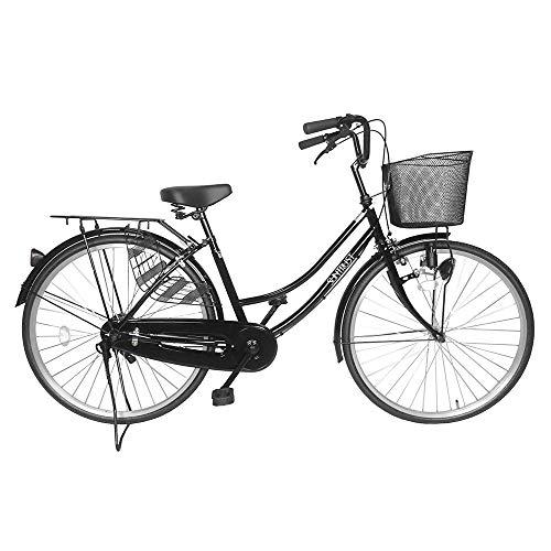 シンプルな自転車 ブラック 26インチ サントラスト スソ