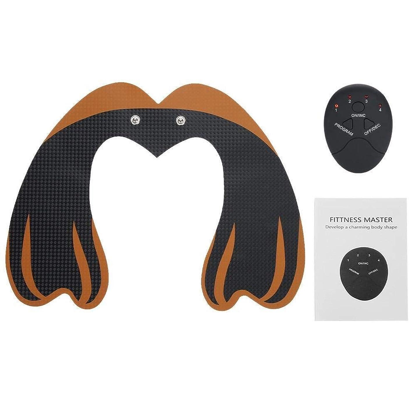 保護手段全能Brocan EMSヒップトレーナーヒップは01マッサージャーマッサージ機ヒップ筋肉刺激リフティング
