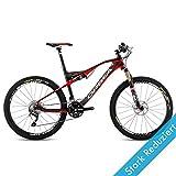 Tamaño 18,5 Orbea OIZ M50 14/M rojo para bicicleta de montaña remote-horquilla MTB DH, B24019L1