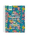 Finocam - Agenda Curso 2020-2021 Octavo- 1 Día Página Secundaria Imposible Español, 8º - 120 x 164 (mediano) - 130 x 164 mm