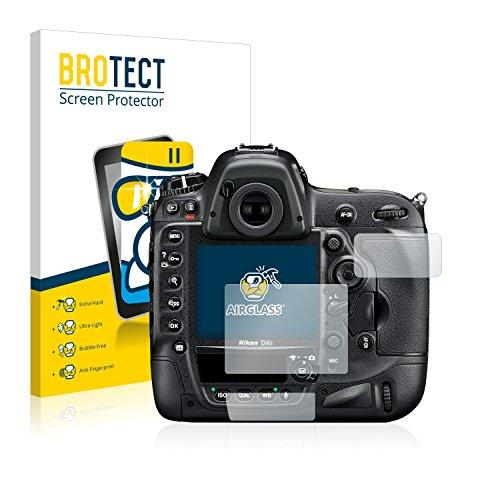 BROTECT Protector Pantalla Cristal Compatible con Nikon D4S Protector Pantalla Vidrio -...