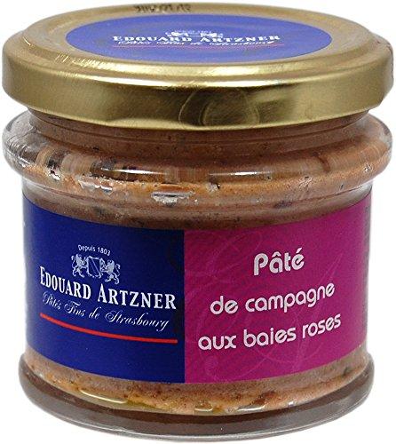 Edouard Artzner Leberpastete mit rosa Pfeffer 100 Gramm im Glas
