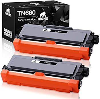 2-Pack iKong Brother TN660 Compatible Toner Cartridge