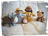 CAPRILO. Figuras Decorativas Religiosas Muñecos a Crochet Nacimiento 5 Piezas. Adornos y Esculturas....