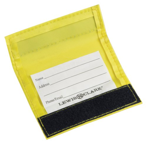 Lewis N. Clark 3-Pack Luggage ID Handle Wrap, Yellow, One Size