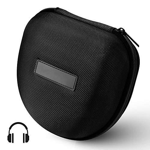 XCSOURCE® Hard Eva Kopfhörer Tasche Beutel Reisetasche (Schwarz) für Marshall Major I/Major II Bluetooth On-Ear Headset TH716