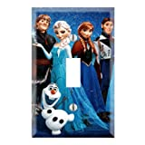 Single Toggle Wall Switch Cover Plate Decor Wallplate - Frozen Alsa and Anna