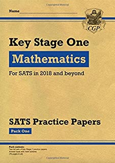 KS1 Maths SATS Practice Papers: Pack 1 (for the tests in 2018 and beyond)
