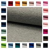 Bündchen Stoff NELE UNI in vielen Farben Oeko-Tex Standard