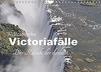 Weltnaturerbe Victoriafaelle - Der Rauch, der donnert (Wandkalender 2022 DIN A4 quer): Die Victoriafaelle sind Afrikas spektakulaersten und schoensten Wasserfaelle (Monatskalender, 14 Seiten )