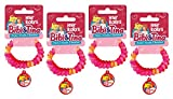 CRAZE ROLLYS Bibi & Tina 4x 2er Set Kinder Armband Armreif Haarspange Kinderschmuck 12949