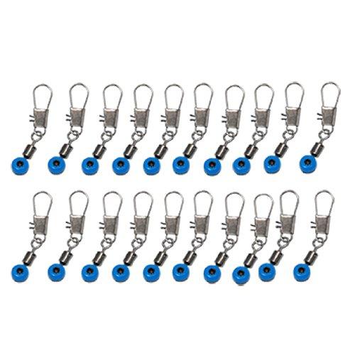 Azul Conector de Clip Eslabon Sedal a Gancho