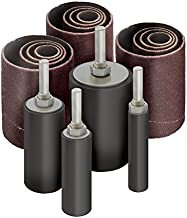 16pk Sanding Drum and Sleeves Set for Drill, 2-inch Long