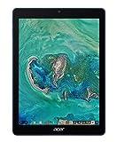 Acer Chrometab 10 D651N-K8FS Tablet mit Touchscreen, 9,7 Zoll, FHD, Blau/Schwarz (Rockchip RK3399, 4 GB RAM, eMMC 32 GB, Intel HD Graphics, Chrome OS)