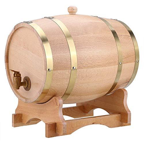 GPWDSN Whiskyfass Tisch, dekorative Weinfässer, Whiskyfässer, Weinschränke, Aufbewahrungseimer, Restaurant Bar Ornamente, eingebaute Aluminiumfolie, Hochzeitsweinfässer, 3L5L10L (1,5L)