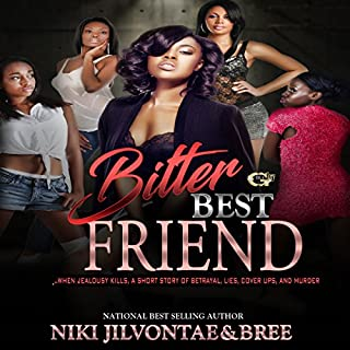 Bitter Best Friend audiobook cover art