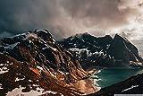Rompecabezas Para Adultos1500 Piece Rompecabezas De Madera Juego Educativo Para Aliviar El Estrés Para Niños AdultosMontañas, Islas Lofoten, Noruega