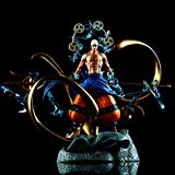 SFRIDQ UNA Pieza Anime Inmaduro Thor Anilu Talla de Dos Cabezas Estatua súper Grande Estatuilla Mode...