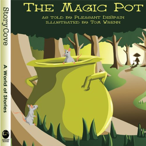 The Magic Pot audiobook cover art
