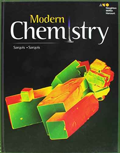 Compare Textbook Prices for HMH Modern Chemistry: Student Edition 2017 1 Edition ISBN 9780544817845 by HOUGHTON MIFFLIN HARCOURT