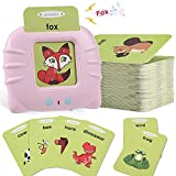 MOFGDNI Baby Flash Cards Educational Toys for 2 3 4 Years Old, Learning Resource Electronic Interactive Toys for 2-4 Year Old Boys Girls Toddlers Kids Birthday Gifts Ages 2 3 4 5 Preschool