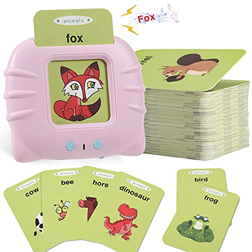 MOFGDNI Baby Flash Cards Educational Toys for 2 3 4 Years Old,...