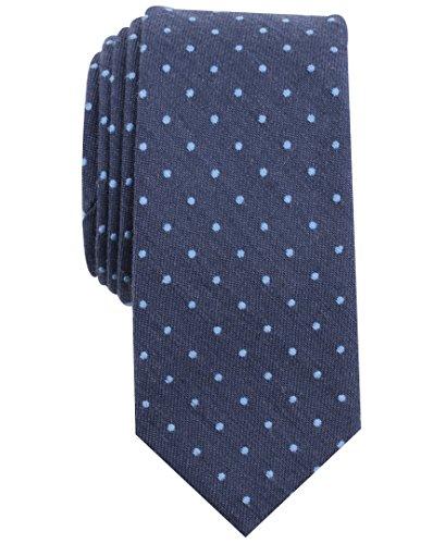 Original Penguin (PENH8) Herren Montego Dot Tie Krawatte, blau, Einheitsgröße
