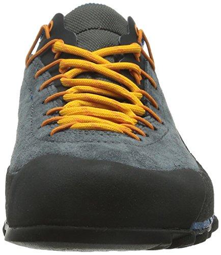 La Sportiva 17WBP, Zapatillas de Senderismo Unisex Adulto, Multicolor (Blue/Papaya 000), 39 EU