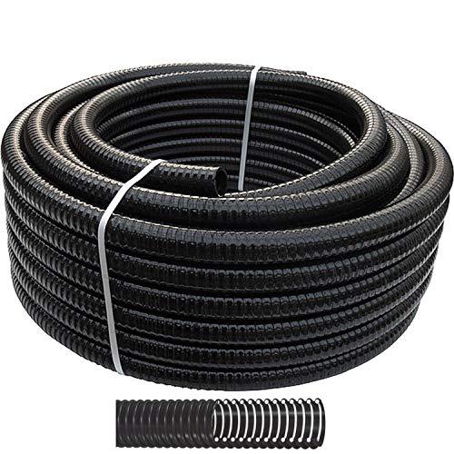 Pondlife 20m Rolle Teichschlauch Spiralschlauch 32mm 1 1/4' Pumpe Filter - Made in EU