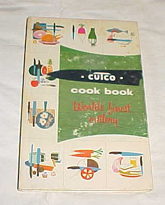 Cutco Cook Book World's Finest Cutlery Cookbook Meat and Poultry 1956 Cookery By Margaret Mitchell