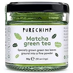 Ceremonial grade matcha green tea from Japan - Matcha tea grown without the use of pesticides Can help to improve your mood, memory & concentration High in feel good healthy antioxidants - A delicate taste with no bitterness Can help to boost your me...
